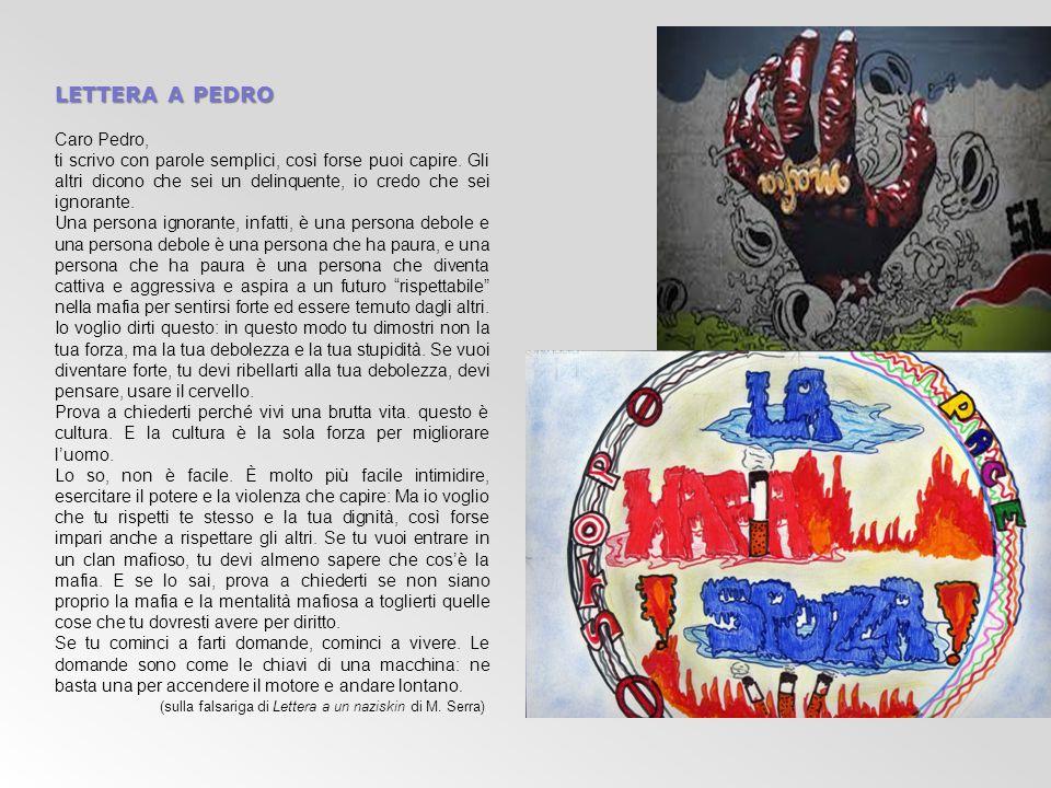 lettera a pedro Caro Pedro,