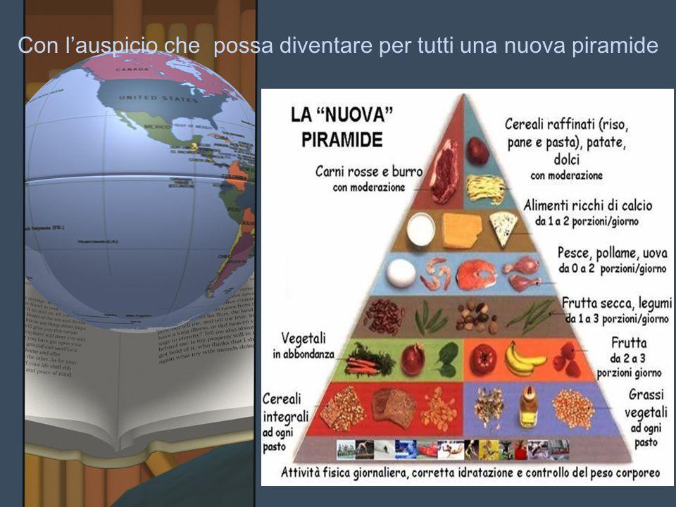 Con l'auspicio che possa diventare per tutti una nuova piramide