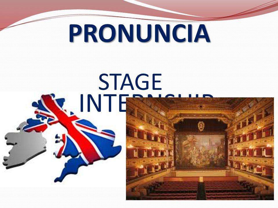 PRONUNCIA STAGE INTERNSHIP