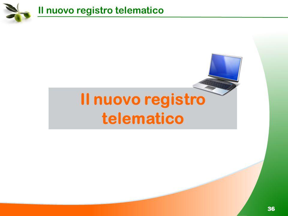 Il nuovo registro telematico