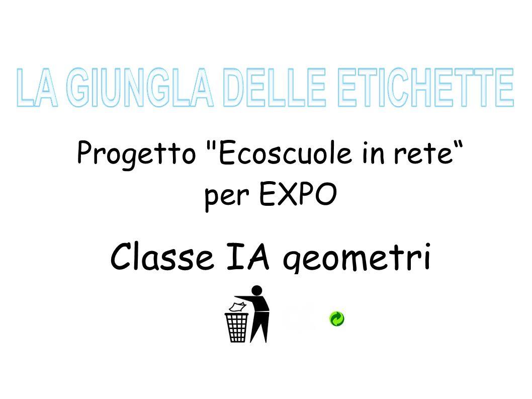 Progetto Ecoscuole in rete