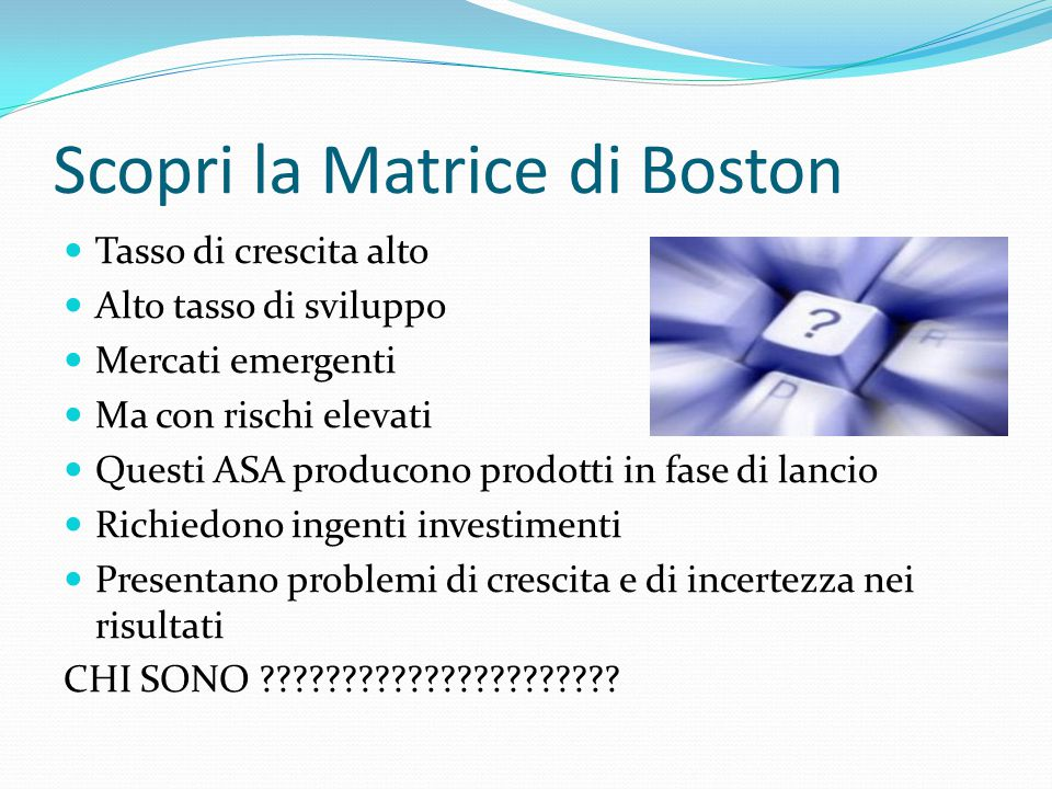 Scopri la Matrice di Boston