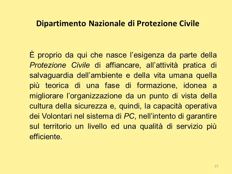 Dipartimento Nazionale di Protezione Civile