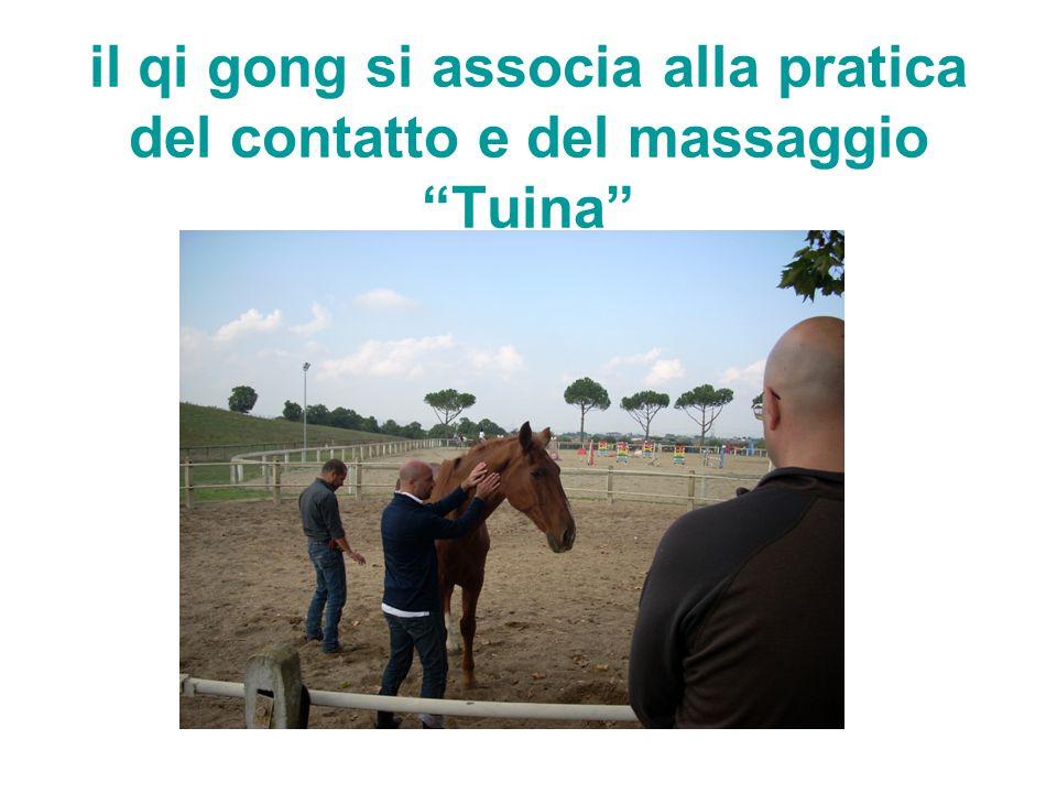 il qi gong si associa alla pratica del contatto e del massaggio Tuina