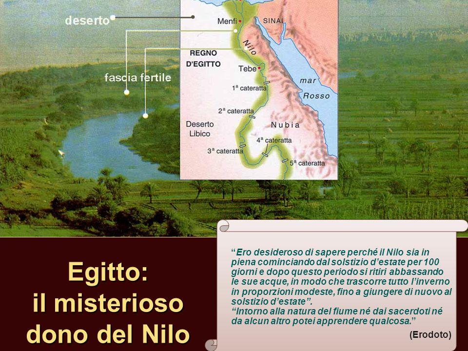 Egitto: il misterioso dono del Nilo