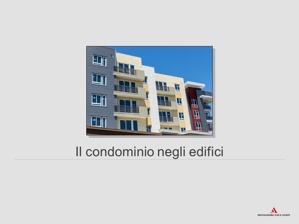 Il condominio negli edifici