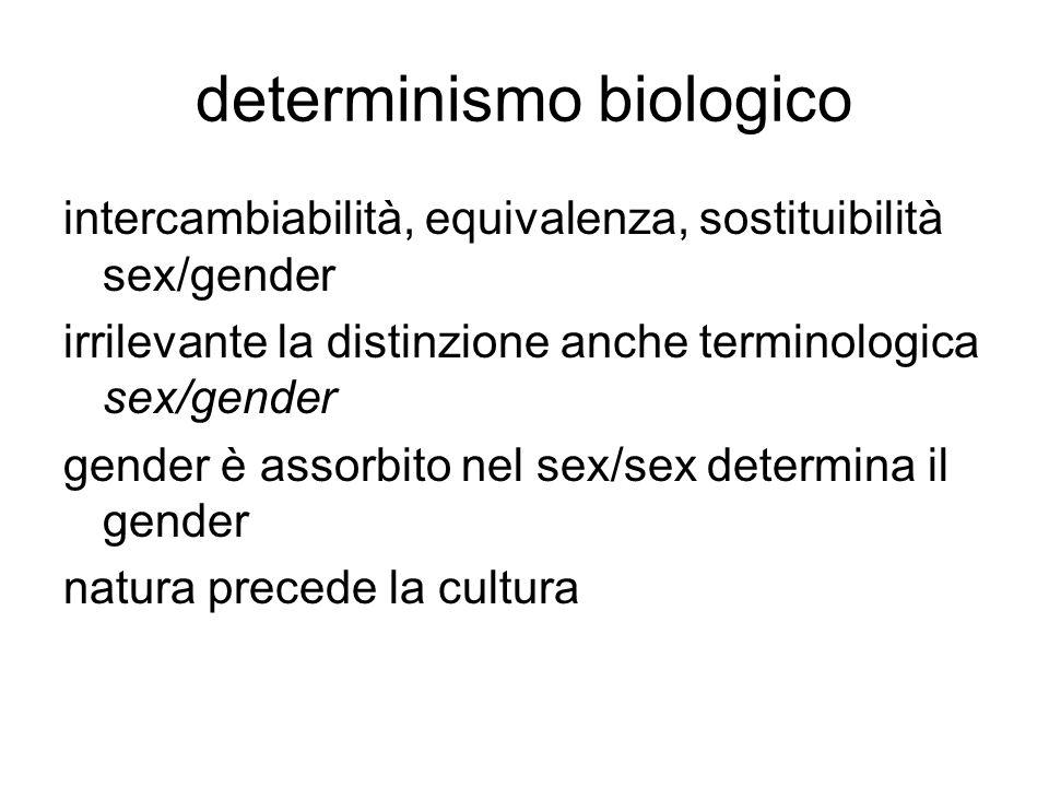 determinismo biologico