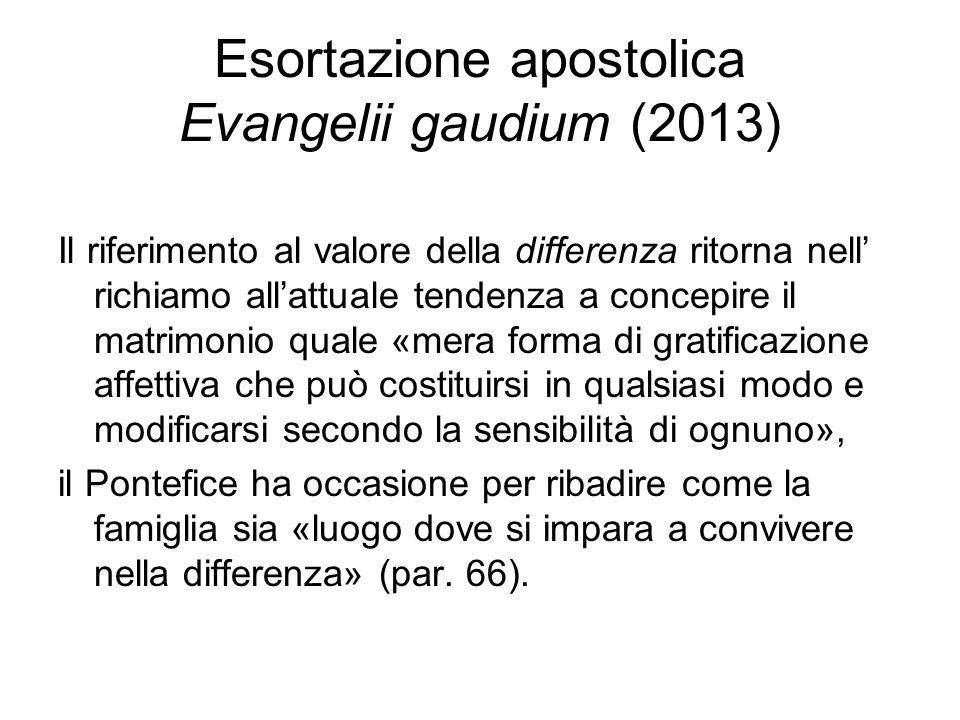 Esortazione apostolica Evangelii gaudium (2013)