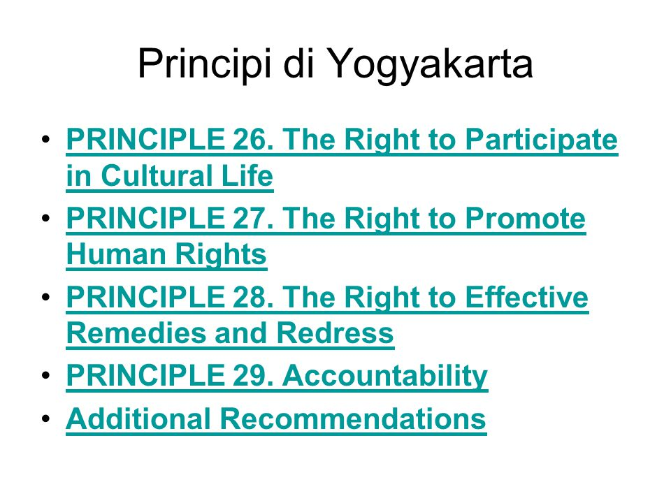 Principi di Yogyakarta