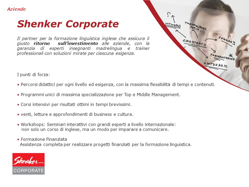 Shenker Corporate Aziende