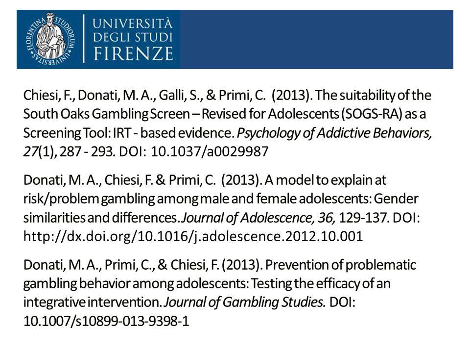Chiesi, F. , Donati, M. A. , Galli, S. , & Primi, C. (2013)