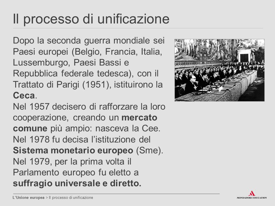 Il processo di unificazione