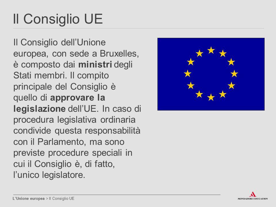 Il Consiglio UE