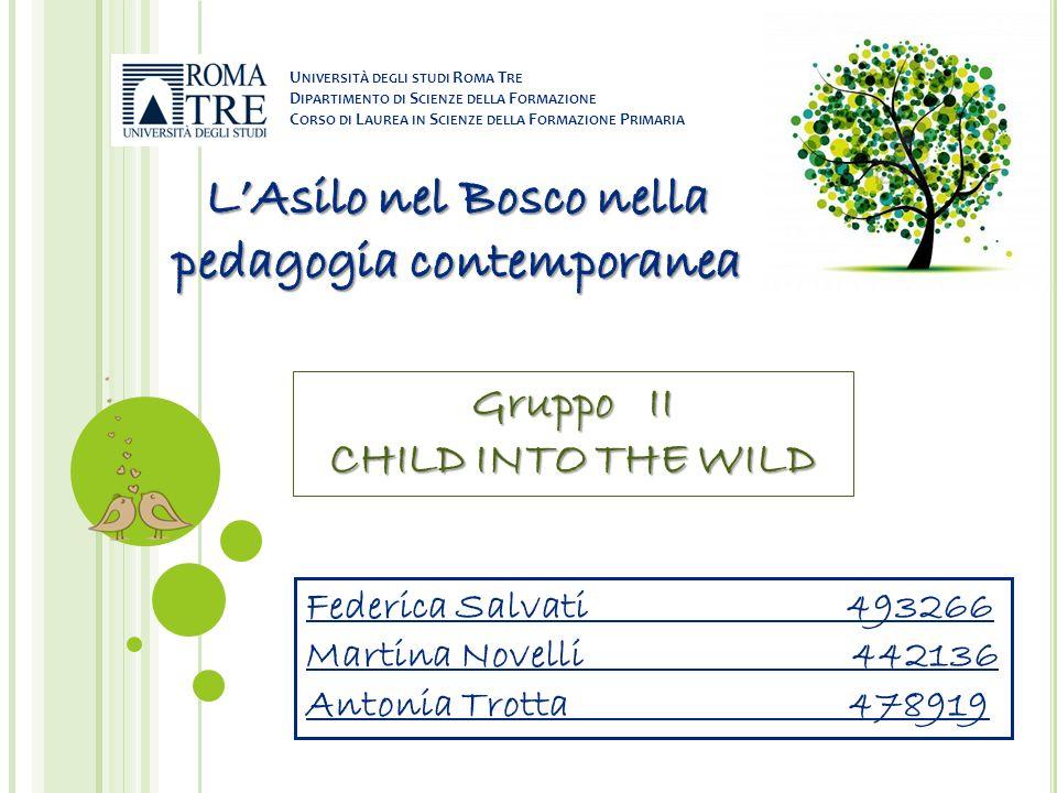 L'Asilo nel Bosco nella pedagogia contemporanea