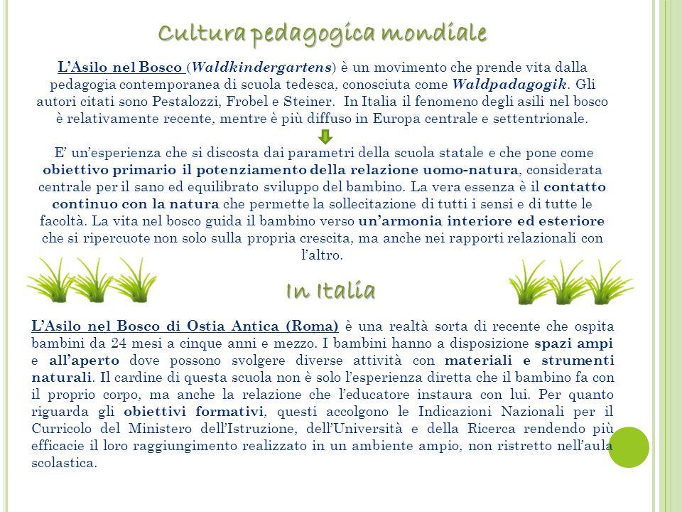 Cultura pedagogica mondiale