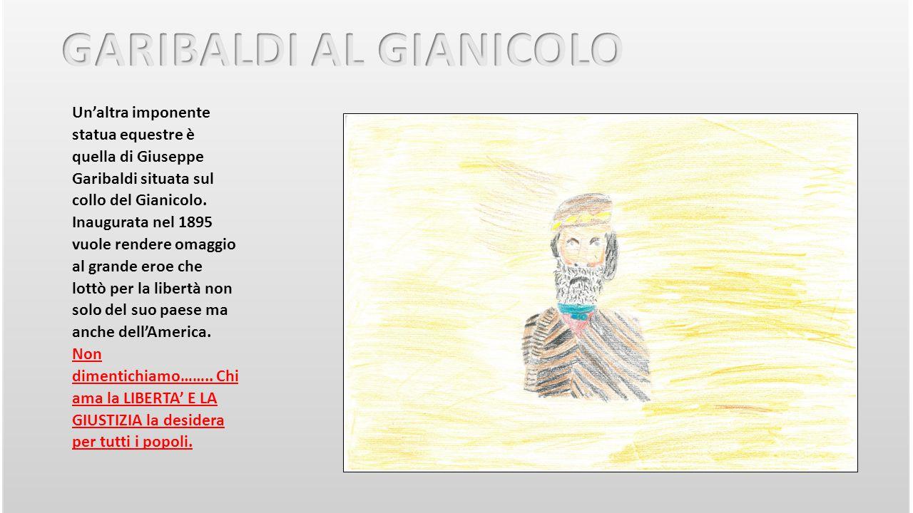 GARIBALDI AL GIANICOLO