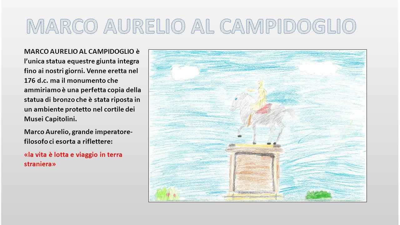 MARCO AURELIO AL CAMPIDOGLIO