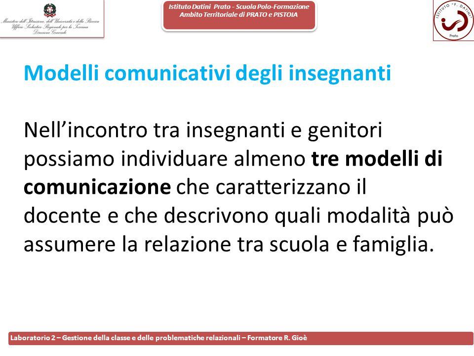 Modelli comunicativi degli insegnanti