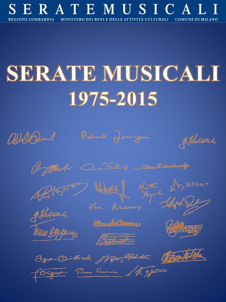 SERATE MUSICALI 1975-2015