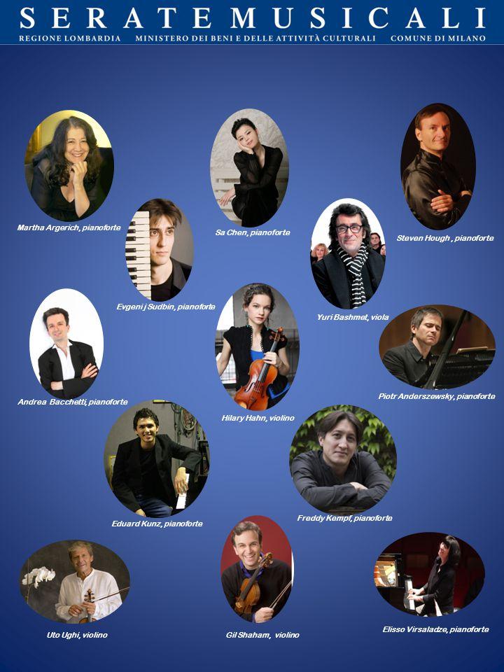 Martha Argerich, pianoforte Sa Chen, pianoforte