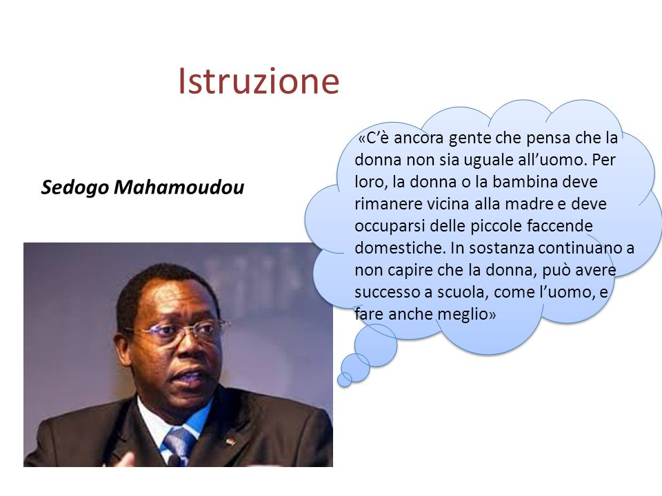 Istruzione Sedogo Mahamoudou