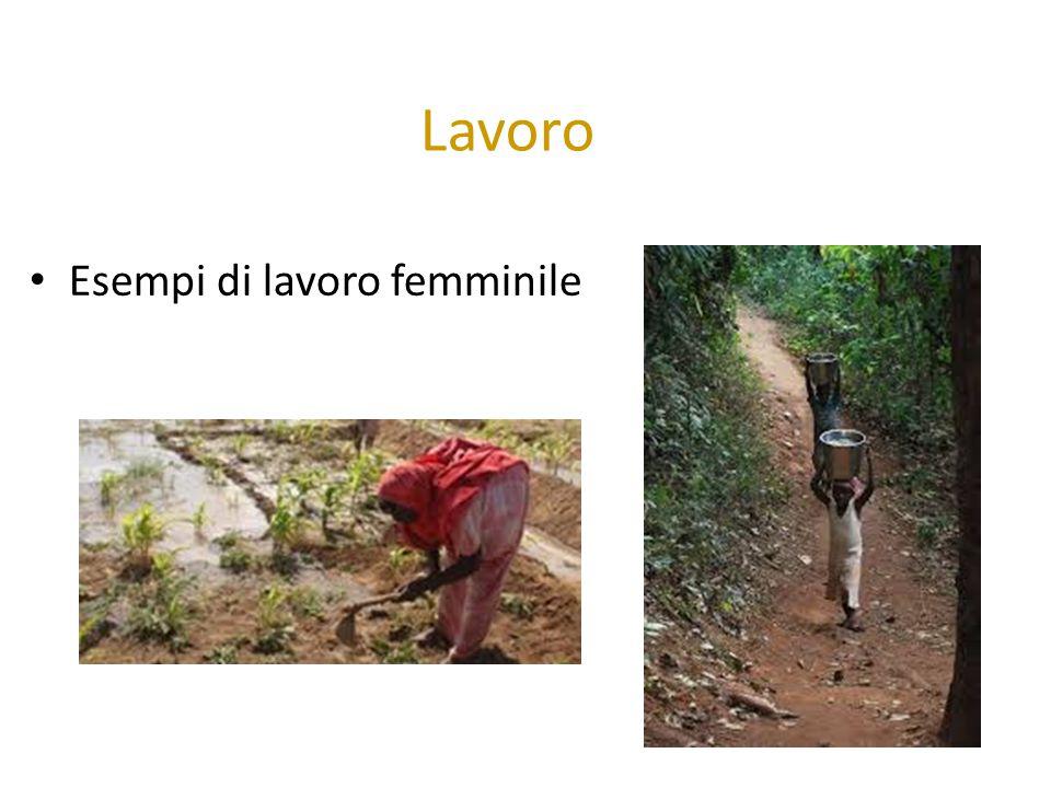 Lavoro Esempi di lavoro femminile