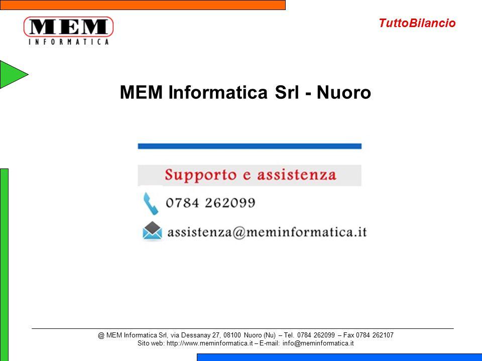 MEM Informatica Srl - Nuoro