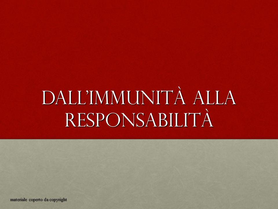 Dall'immunità alla responsabilità