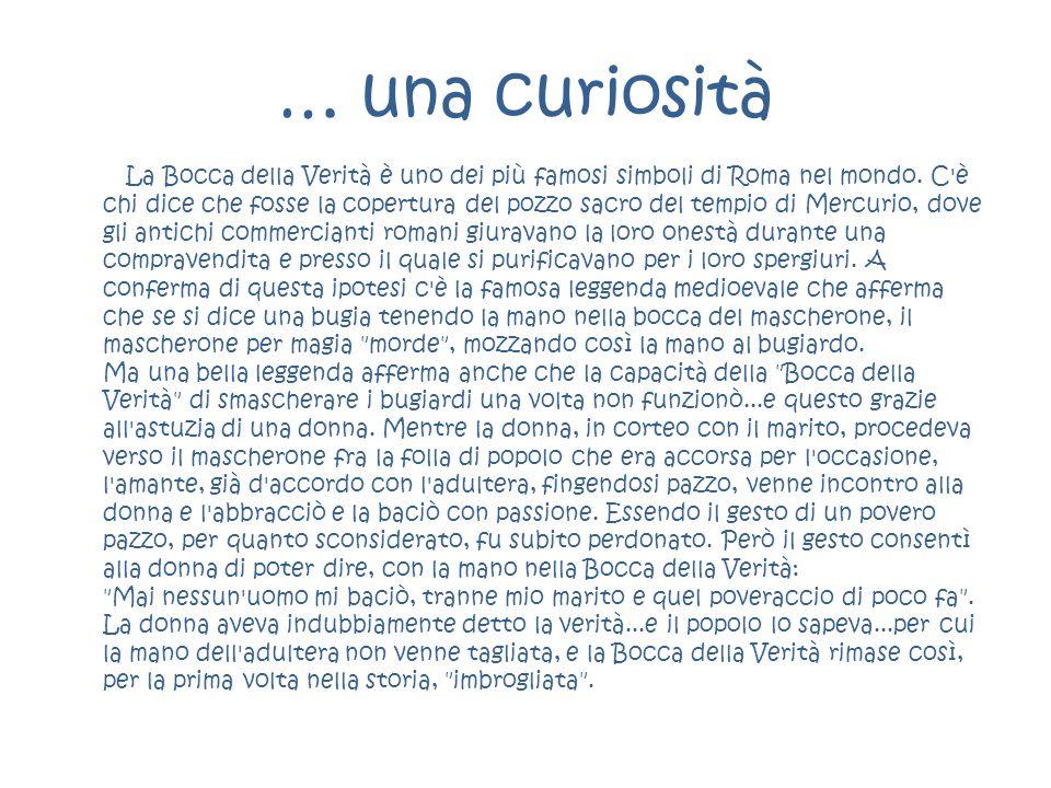 … una curiosità