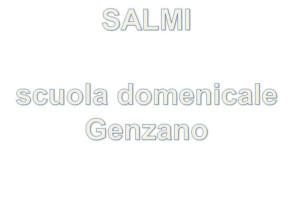 SALMI scuola domenicale Genzano