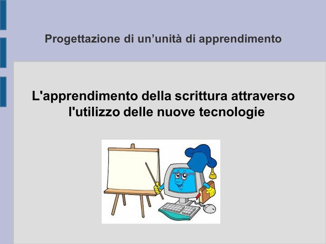 Progettazione di un'unità di apprendimento