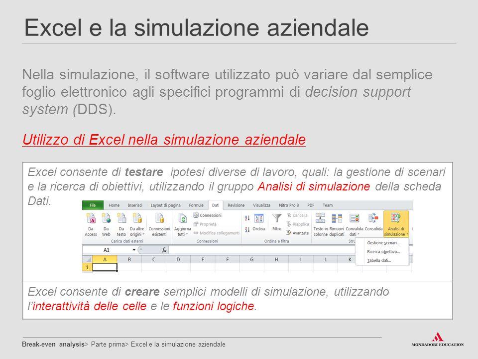 Excel e la simulazione aziendale