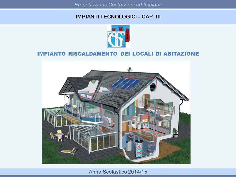 IMPIANTI TECNOLOGICI – CAP. III