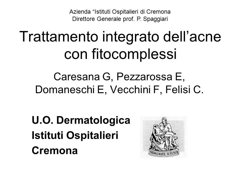 Trattamento integrato dell'acne con fitocomplessi