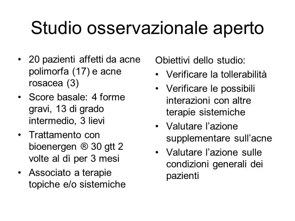 Studio osservazionale aperto