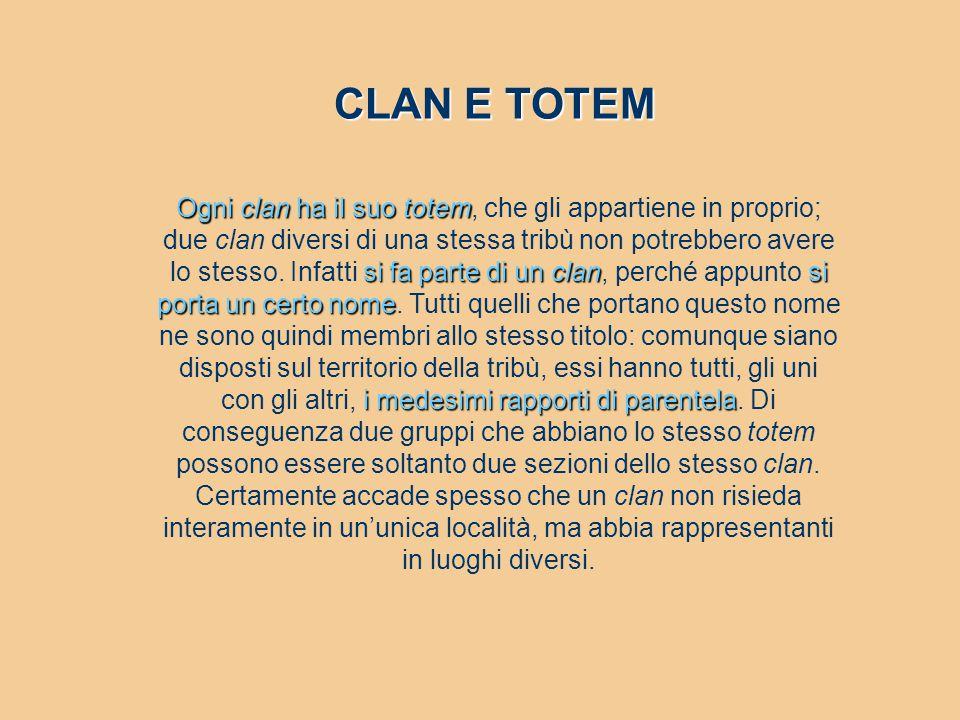 CLAN E TOTEM