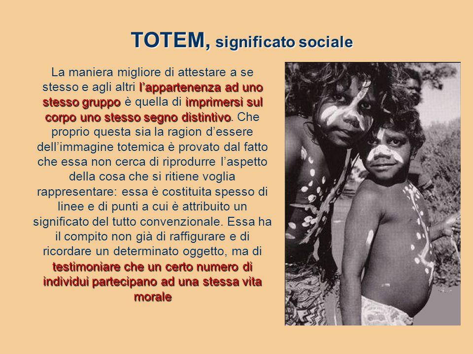 TOTEM, significato sociale