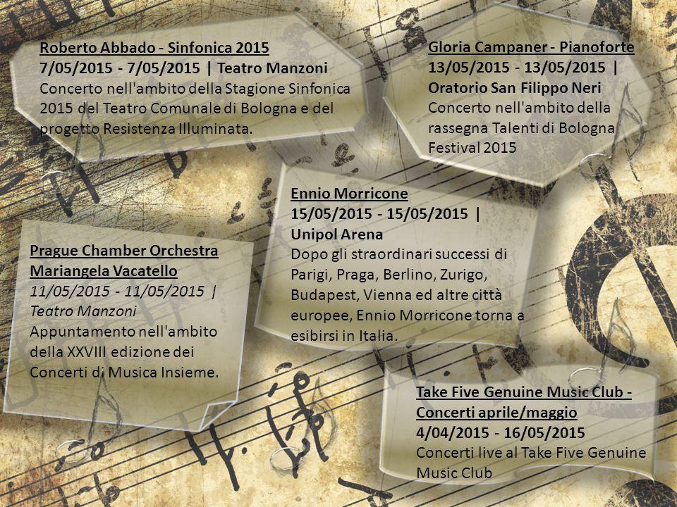 Roberto Abbado - Sinfonica 2015