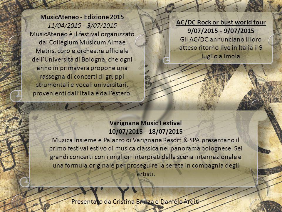 MusicAteneo - Edizione 2015 11/04/2015 - 3/07/2015