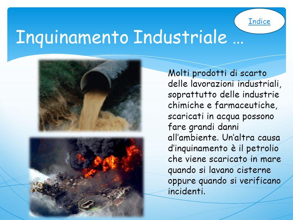 Inquinamento Industriale …