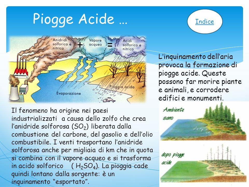 Piogge Acide … Indice.