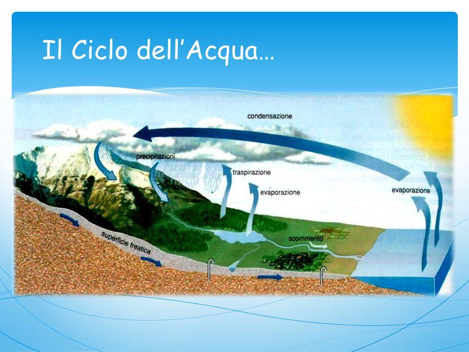 Il Ciclo dell'Acqua…