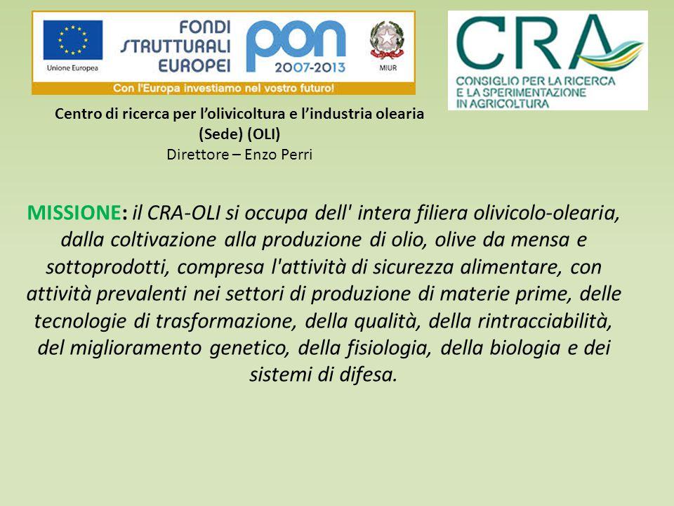 Centro di ricerca per l'olivicoltura e l'industria olearia