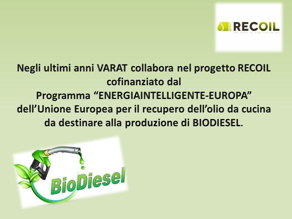 Negli ultimi anni VARAT collabora nel progetto RECOIL cofinanziato dal