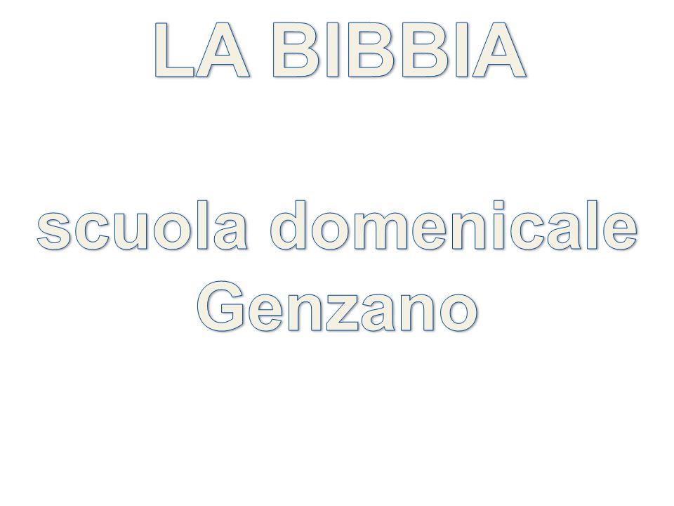 LA BIBBIA scuola domenicale Genzano