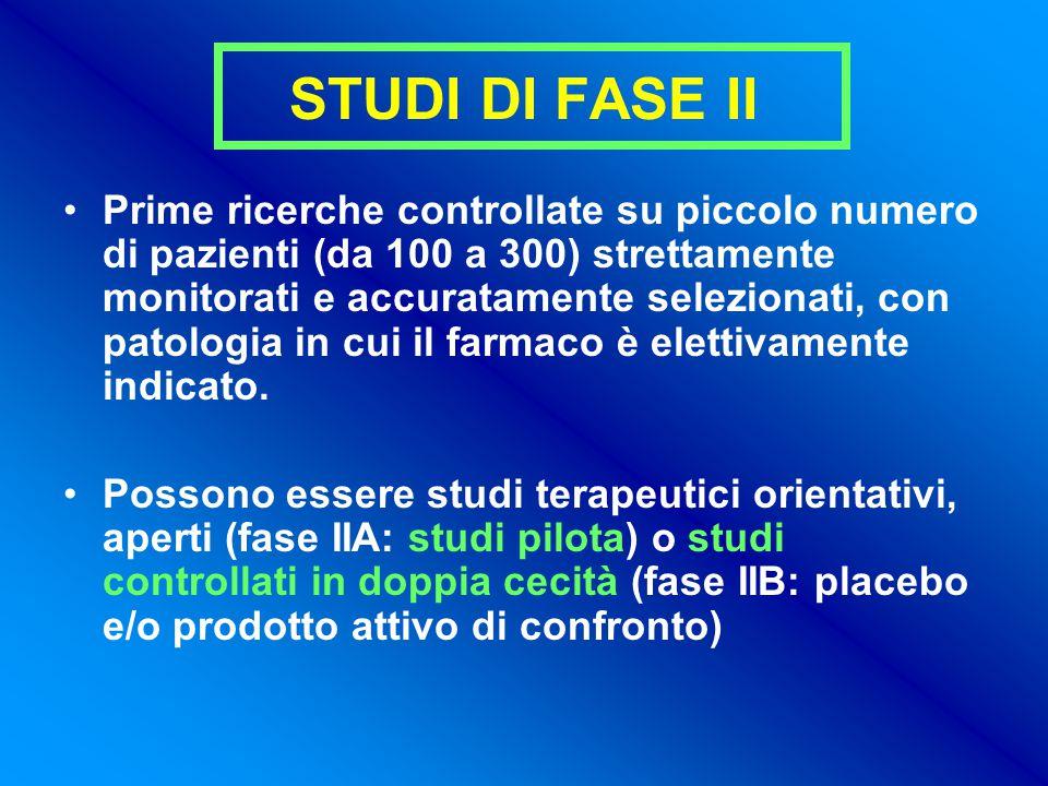 STUDI DI FASE II