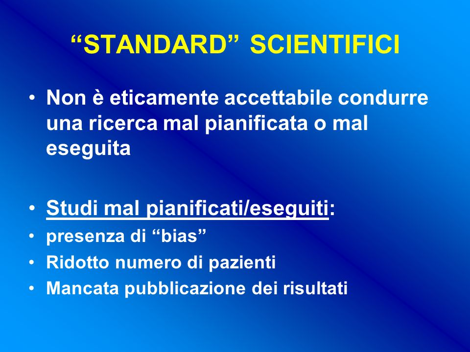 STANDARD SCIENTIFICI