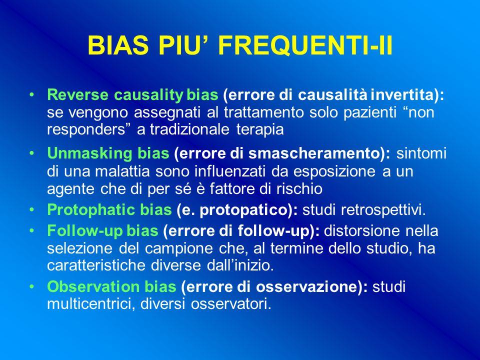 BIAS PIU' FREQUENTI-II