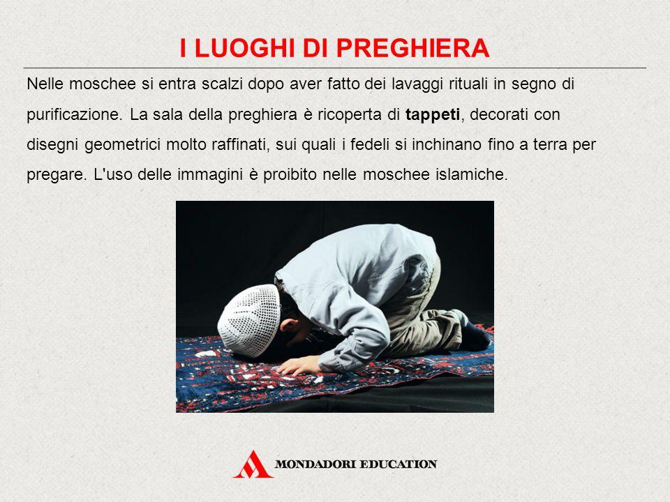 I LUOGHI DI PREGHIERA