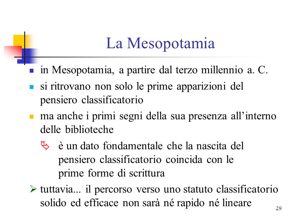 La Mesopotamia in Mesopotamia, a partire dal terzo millennio a. C.